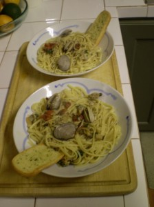 Linguini in Clam Sauce