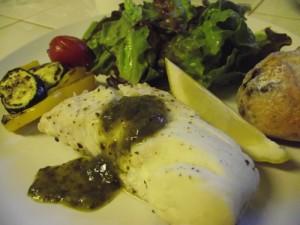 Lemon Basil Halibut