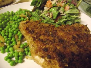 Masala Crusted Pork Chops