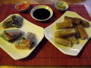 Asian Rolls Hot & Cold