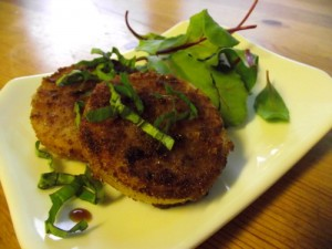 Fried Green (not) Tomatoes