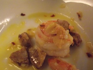 Oceanwise Prawns, Garlic & Chorizo by Guest Chef Matthew Batey at Mission Hill Winery