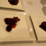 Braised beef with hunter sauce