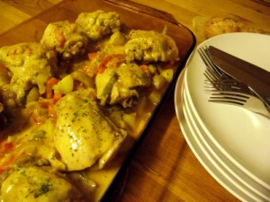Easy & Velvety Hungarian Paprika Chicken