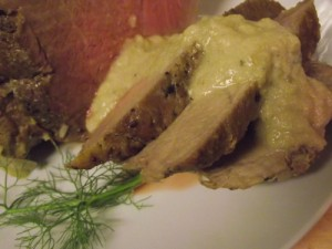 Pork Roast with Milk and Fennel