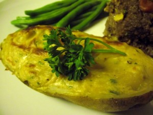 Easy and Kid Friendly Twice Baked Potatoes