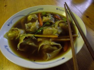 Easy Homemade Wonton or Noodle Soup