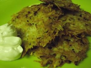 Crispy Potato Pancakes
