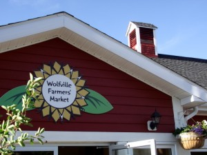 Entrance to the Wolfville Farmers Market