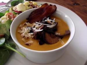 Wild Mushroom & Squash Soup