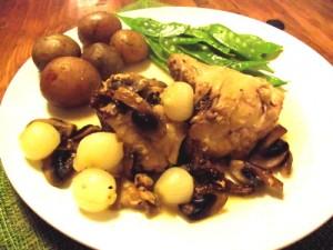 Easy Chicken Fricassee Recipe